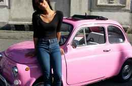 Vintage Fiat 500 Tour of Rome