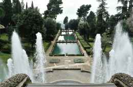 Private transfer from Rome to visit Hadrian's Villa and Villa d'Este