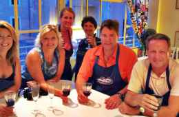 Cooking Lesson Evening in Rome with Happy Hour Welcome