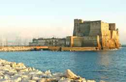 Castel dell' Ovo of Naples