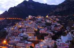 View of Cinque Terre by Night
