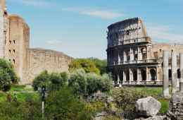 View of Colosseo