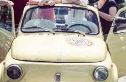 Romantic tour from Florence to Chianti by a vintage Fiat 500