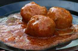Cooking class: meat balls