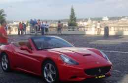 Drive a Ferrari California in Rome