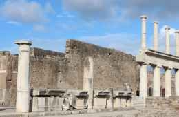 Ancient Pompeii ruins