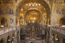 inside st mark basilica