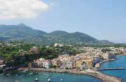 View of Ischia Island