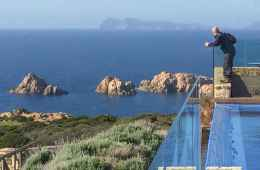 Admire the splendid views on the wild Sardinian landscape