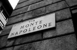 View of Monte Napoleone