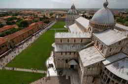 view of the church of pisa
