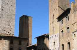 Square in the heart of San Gimignano
