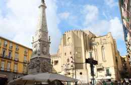 A square in Spaccanapoli in Naples