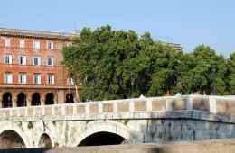 view of ponte sisto trastevere