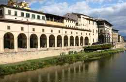 View of Uffizi Gallery