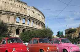 Rome Tour by Fiat 500