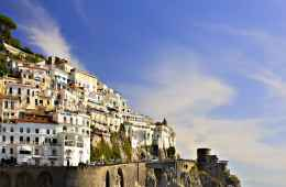Amalfi village off the Amalfi Coast