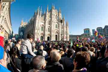 Tours a pie en Milan