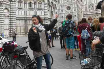 VIP small group tour around Florence by bike with gelato (Italian ice cream)