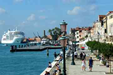 Private Transfer by Water Taxi from Venice Airport to the Cruise Terminal