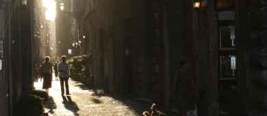 Typical Roman Street Testaccio District