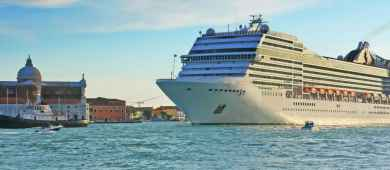 Cruise Ship in Venice