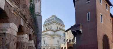 View of Trastevere from the Jewish Ghetto Tour