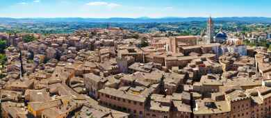 Tour of the most important monuments and squares in Siena and San Gimignano,Tuscany