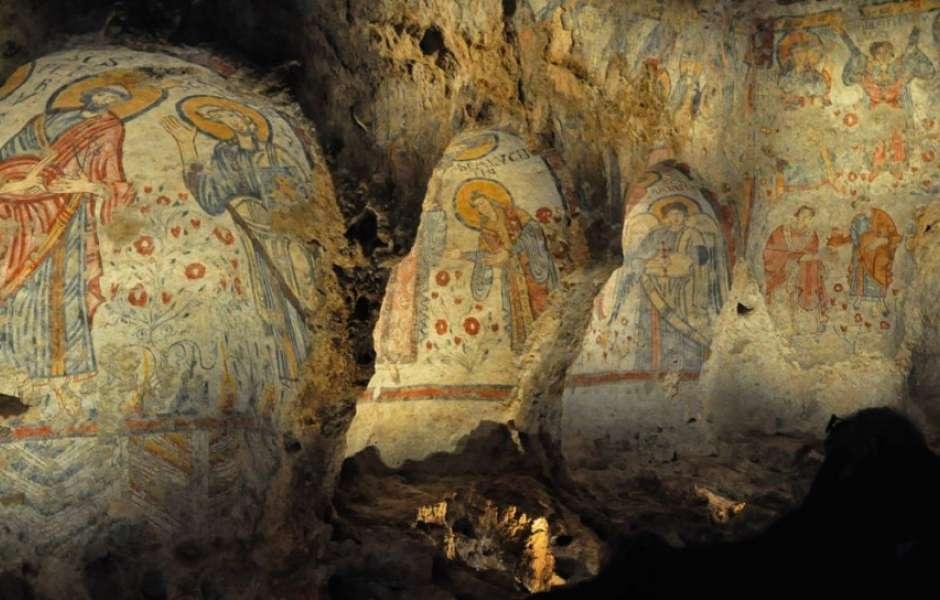 Crypta to visit in Matera