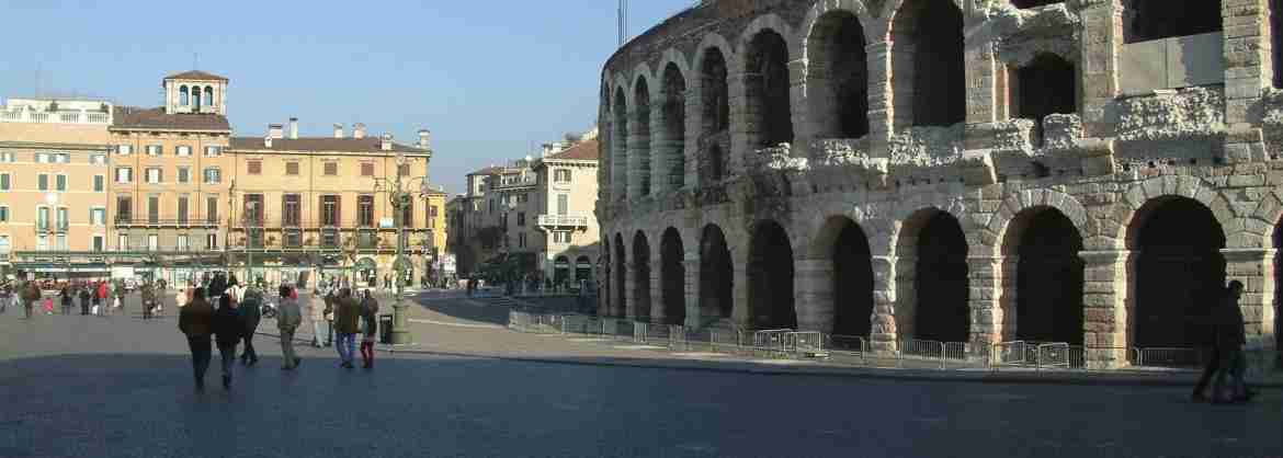 Transfer to Verona from Lake Garda with Opera tickets