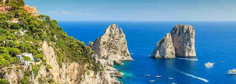 Tour di gruppo in giornata di Capri, con partenza da Sorrento