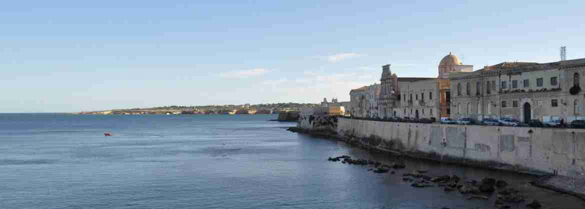 Full-day Tour to visit Syracuse, Ortigia and Noto, from Catania