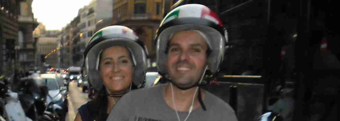 Private Tour discovering Spiritual Rome by Vespa