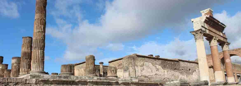 Tour della Costiera Amalfitana e visita di Pompei per piccoli gruppi, da Napoli