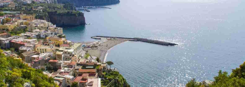 Servicio de traslado privado de Sorrento a la Isla de Capri en hidrofoil y minivan