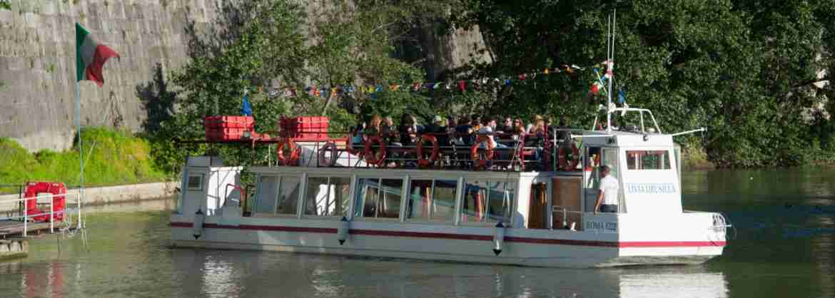 24-Hours Hop-On Hop-Off River Cruise in Rome