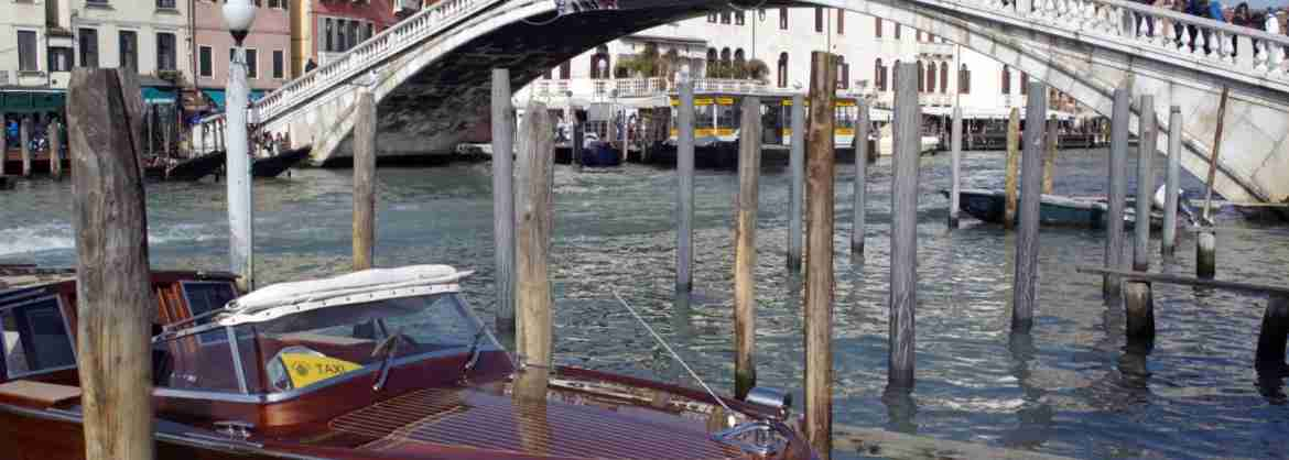 Shared Water Taxi from Piazzale Roma or Train Station to Venice Centre or Lido