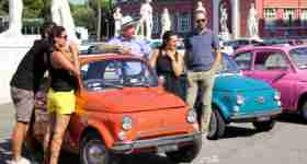 Tour of Rome in a Vintage Fiat 500