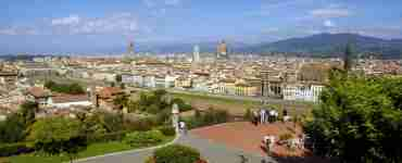 Florence from Michelangelo Square